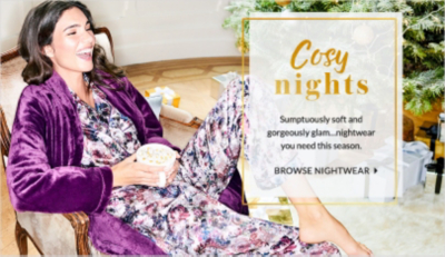 Look your best for the Land of Nod with our collection of nightwear and slippers from George.com