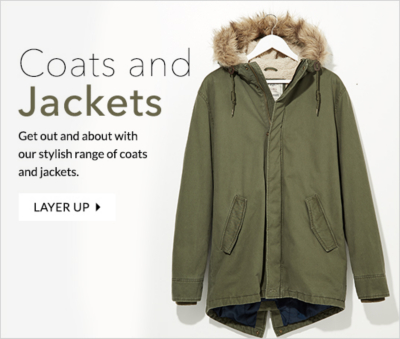 Explore with our great range of coats at George.com