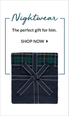 Check out our selection of nightwear for men at george.com and sleep easy