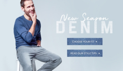 Find your perfect pair of jeans from our one stop denim shop at George.com
