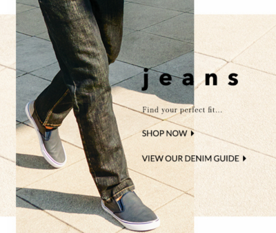 Smarten up your style with our selection of jeans