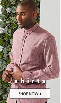 Smarten up your style with our selection of casual and evening shirts at George.com