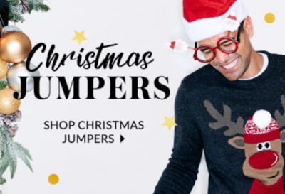 Bring out your festive side with our fun christmas jumpers and cardigans at George.com