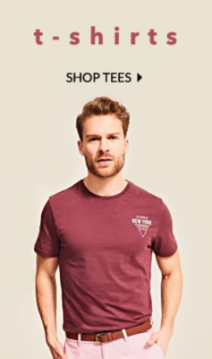 Shop new in tops and tees for men at George.com