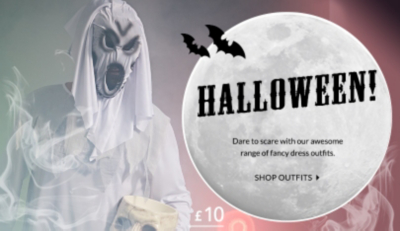 Turn up the spooky-factor this Halloween with our range of gruesome outfits at George.com