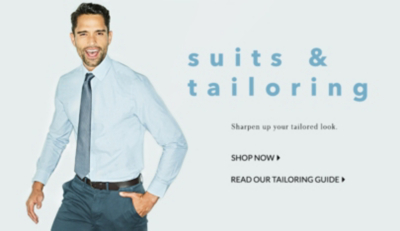 Smarten up your look with tailored shirts and suits at George.com