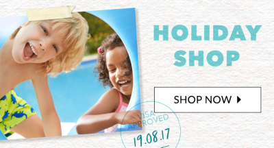 Stock up on their summer essentials with our kids' holiday shop at George.com