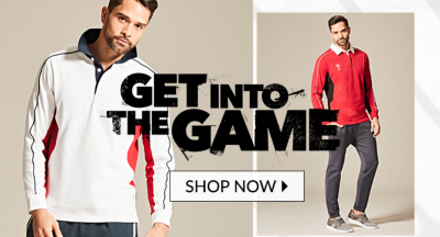 Step up your sports style with our six nation rugby shirts at George.com