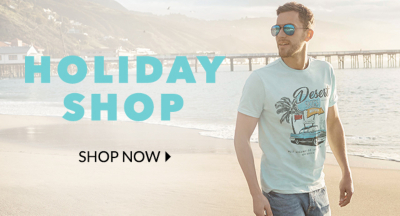 Jet away in sunny style with the latest clothing for men at George.com