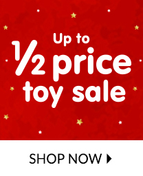 Top up their toy box with up to 50% off all toys at George.com