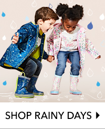 Weatherproof their look with our rainy day trend at George.com