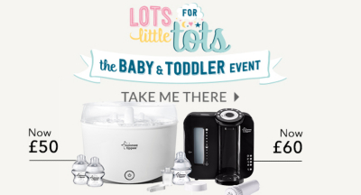 Find everything you need for your newborn with our baby event offers at George.com