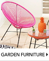 Create a stylish haven with our selection of outdoor furniture at George.com