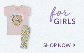 From soft pyjamas to character prints, choose their perfect pair at George.com