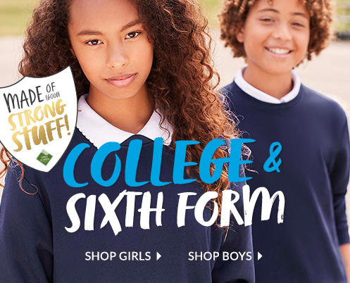Shop the college and sixth form dress code at George.com