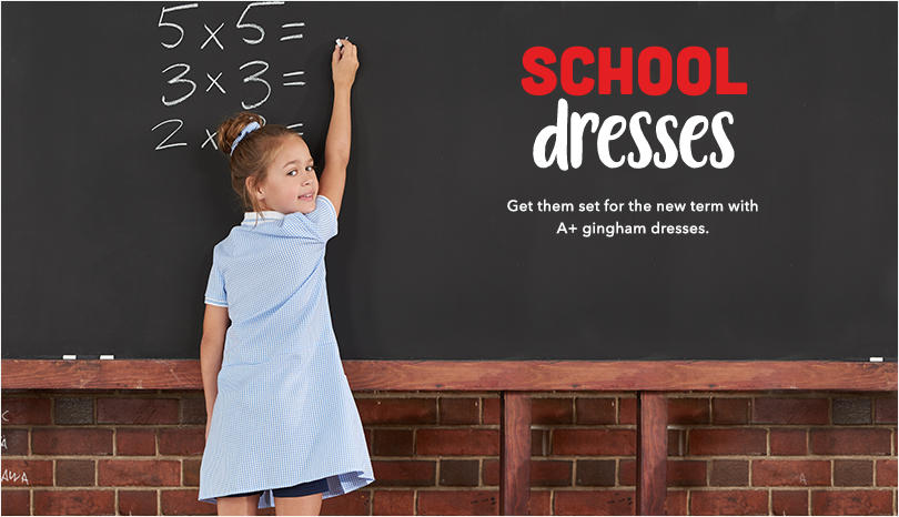 Get them set for the new term with A* dresses at George.com
