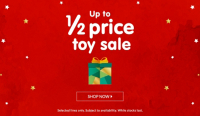 Treat them to a toy box full of action toys with up to 50% off at George.com