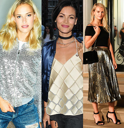 All that glitters is gold! Shop our gorgeous selection of metallic clothing at George.com