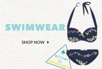 Splash into summer with our gorgeous range of swimwear at George.com