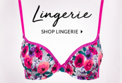 Shop beautiful lingerie at George.com