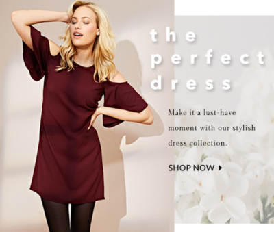 Shop our range of dresses and get Spring ready