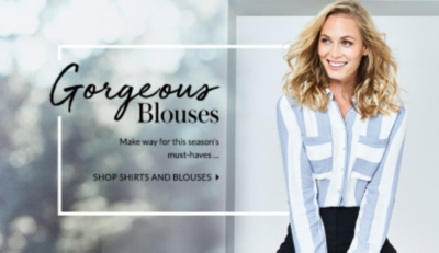 For a range of all-season essentials click here to shop womens shirts and blouses at george.com