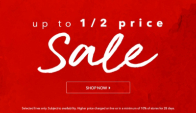 Shop our umissable half price sale on women's clothing at George.com