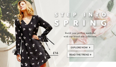 Be on-trend with this season's latest styles at George.com