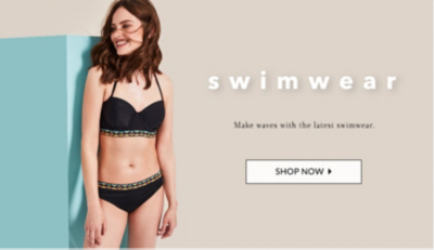 From bikinis to swimsuits buy women's swimwear online at George at ASDA