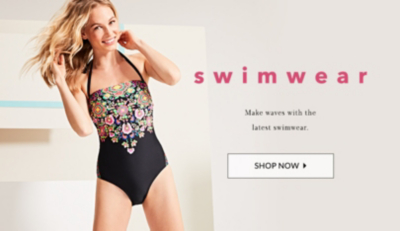 Catch waves with our latest swimwear styles at George.com