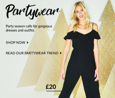 Celebrate in style with these fabulous festive looks at George.com