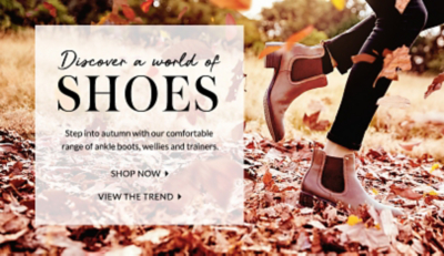 Find must-have footwear at George.com