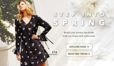 Spring into the new season with latest styles at George.com