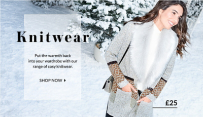 Get knitted out with our wide range of knitwear at George.com