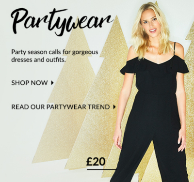 Get in the party spirit with our selection of fabulous outfits and dresses, only at George.com