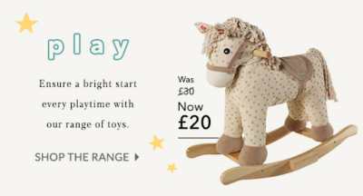 Make everyday playtime with our range of toys at George.com