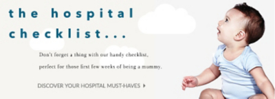 Expecting? Prepare for your newborn with our hopsital checklist at George.com