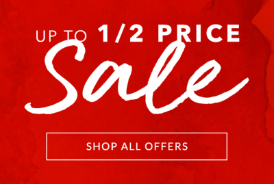 Add those much-needed, welcoming touches to your home with our up to 1/2 off sale at George.com