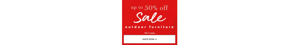 Get your garden summer-ready with outdoor furniture at George.com