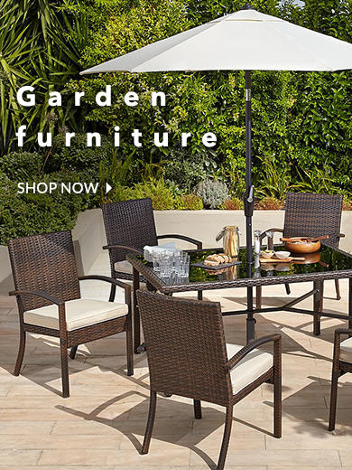 Find a great range of garden furniture at George.com