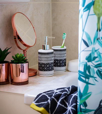 Freshen up your bathroom with our modern selection of accessories at George.com