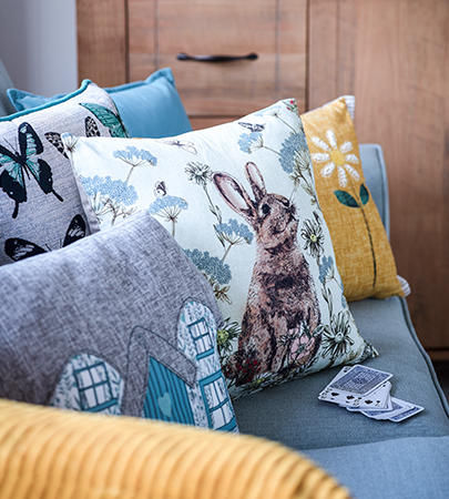 Add a homely touch to your space with our range of cushions at George.com