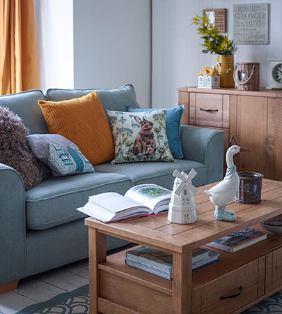 Revamp your space with our stylish selection of living room furniture and accessories