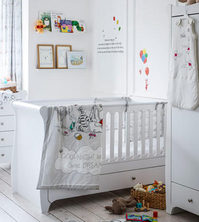 Make their first bedroom one to remember with our selection of nursery furniture at George.com