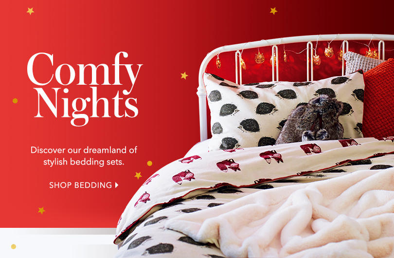 Make everyday a duvet day! Shop bedding at george.com