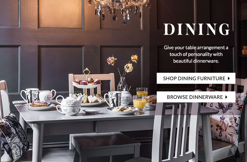 Turn your house into a home with our lovely selection of dining furniture at George.com