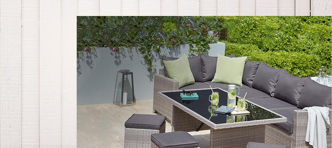 Make the most of your outdoor space with our range of garden furniture