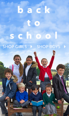 Get all they need for school from clothing to equipment at George.com