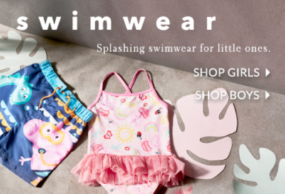 Make a splash with our swimwear collection at George.com