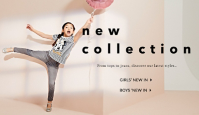 Refresh their wardrobe with our brand new arrivals at George.com